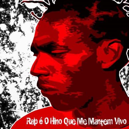 capa do CD RAP é o Hino que me Mantém Vivo - Sabotage
